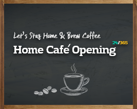 Home Cafe Opening event
