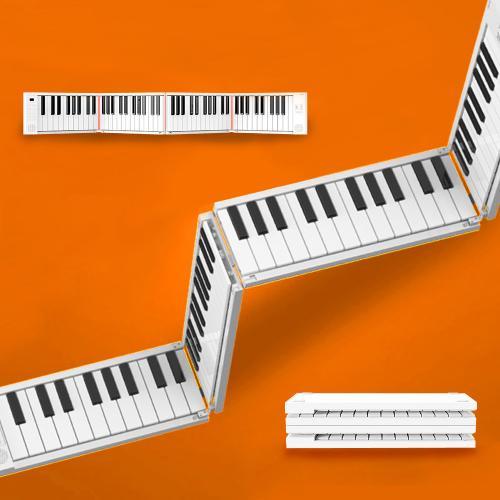 미디플러스 디지털 피아노 무선 접이식 입문용 88건반 /